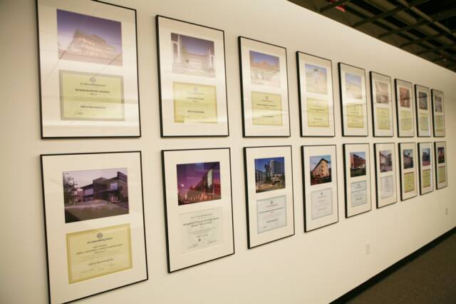 LEED Certificates - Photo Printing, Framing & Installation
